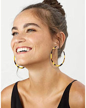 Load image into Gallery viewer, Acrylic Hoop Earrings - The Boutique by Sour Apple Beauty Bar