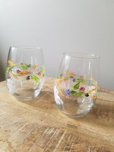 Load image into Gallery viewer, Hand Painted Glasses-Stemless - The Boutique by Sour Apple Beauty Bar