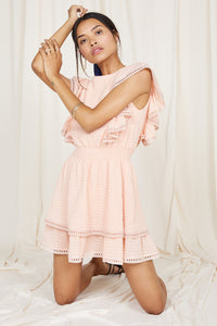 Summers Eve Ruffle Dress - The Boutique by Sour Apple Beauty Bar