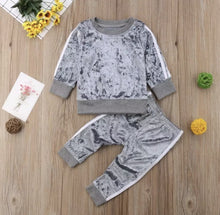 Load image into Gallery viewer, The Velour Tracksuit | Grey