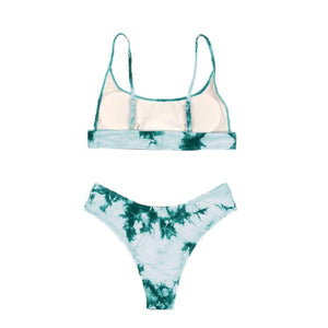 Venice Beach | Shady Lady Swimwear - Tie Dye - The Boutique by Sour Apple Beauty Bar