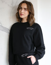 "Load image into Gallery viewer, The ""BABES SOCIAL CLUB"" Best Friend Crew Neck Sweatshirt 