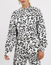 "Load image into Gallery viewer, The ""SNOW LEOPARD"" Best Friend Crew Neck Sweatshirt 