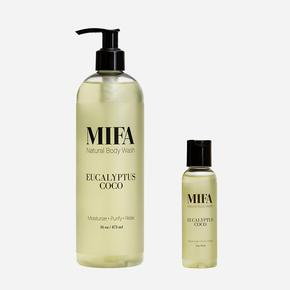 Mifa Natural Body Wash- Eucalyptus - The Boutique by Sour Apple Beauty Bar