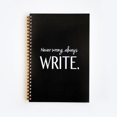 Always Write Notebook - The Boutique by Sour Apple Beauty Bar