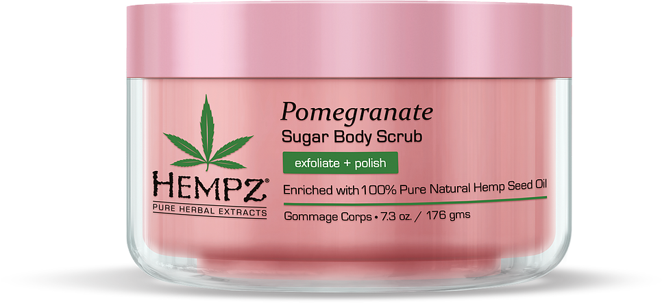 POMEGRANATE herbal sugar body scrub - The Boutique by Sour Apple Beauty Bar
