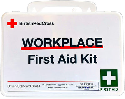 British red cross workplace first aid kit small