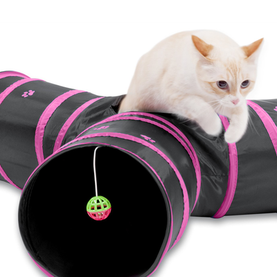 Super Fun 3-Way Cat Tunnel Toy