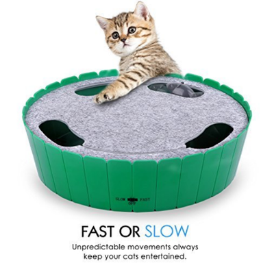 CatPrestige™ Chase Mouse Hunt Cat Toy