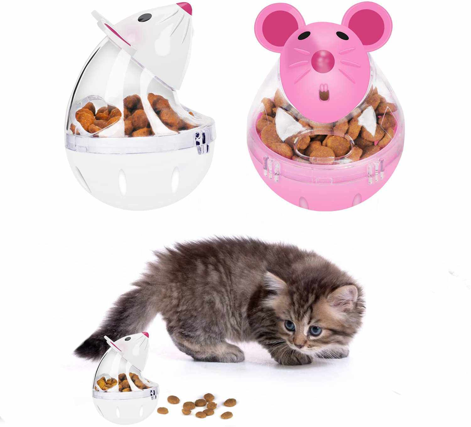 Mice Shaped Cat Slow Feeder Toy