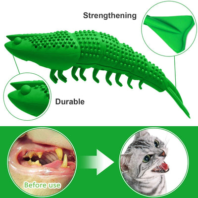 CatPrestige™ Cat Dental Care Toothbrush Catnip Toy
