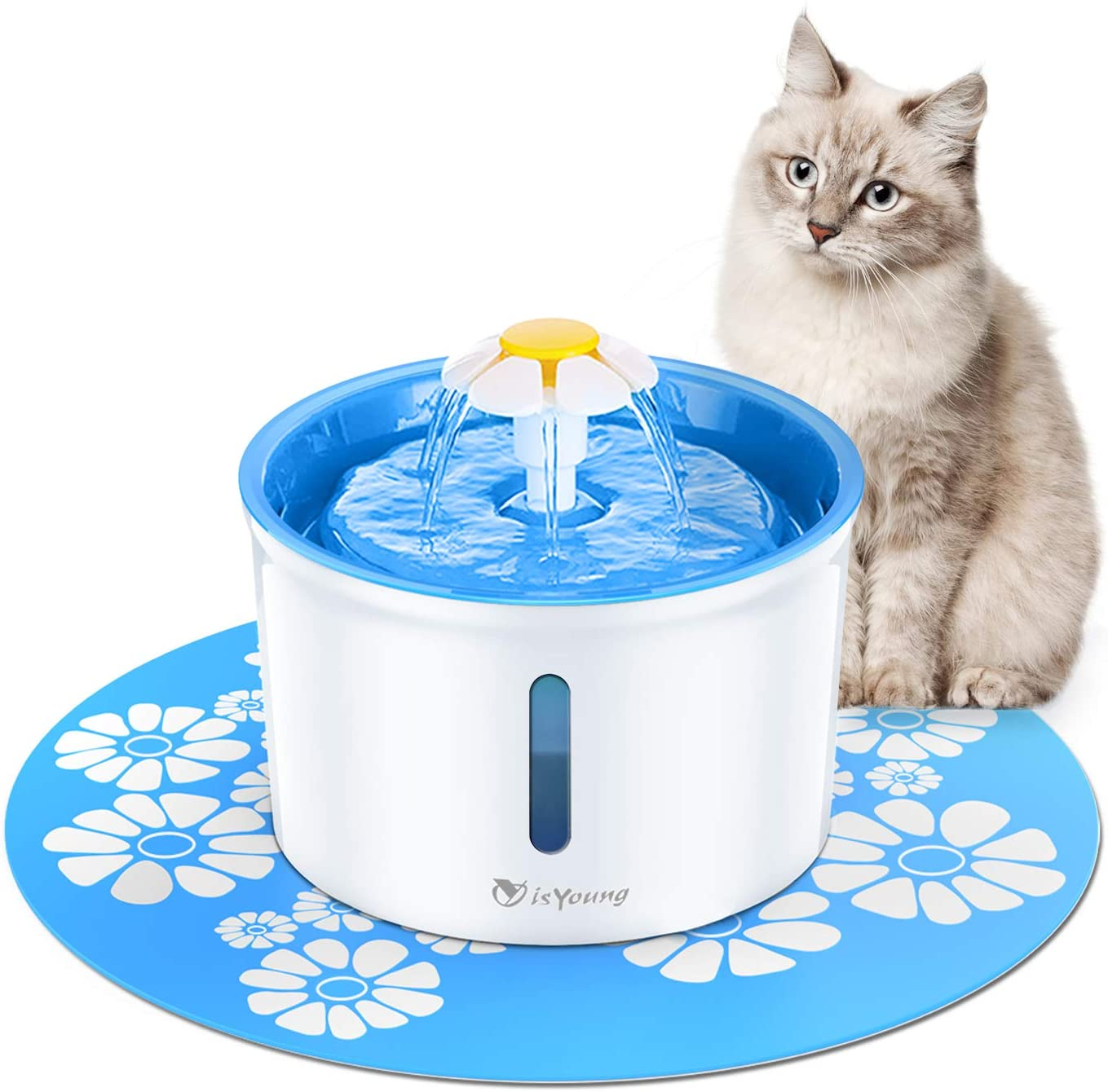 CatPrestige™ Cat Water Flower Fountain