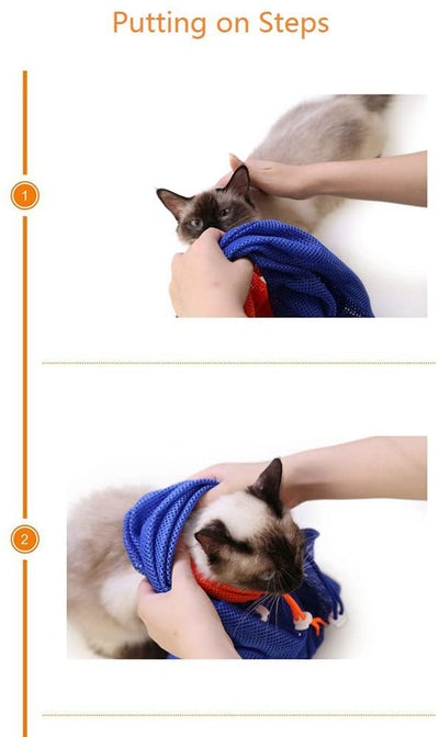 CatPrestige® Scratch Resisted Cat Grooming Bag