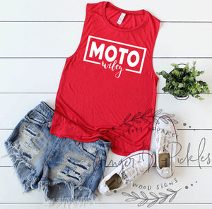 Moto Wifey Muscle Tank, Race Wife Shirt, Racing Wife Shirt, Dirt Bike Wife, Dirt Bike Wife Shirt, Moto Wife Shirt, Race Wifey Shirt