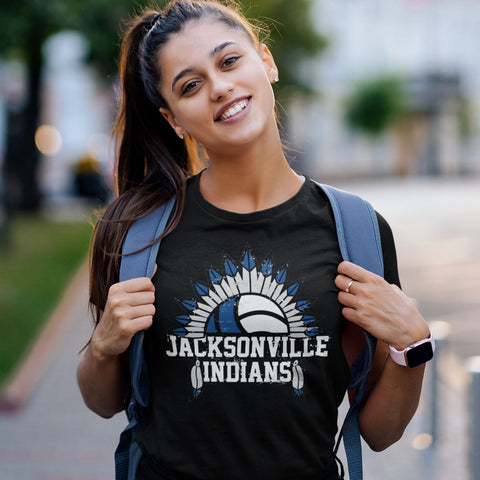 Jacksonville Indian Volley Ball Spike