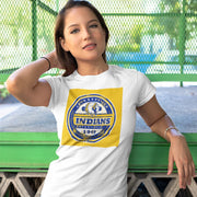 Jacksonville Indians T-shirt Established 1949 Yellow