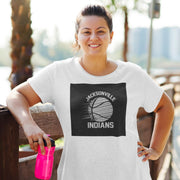 Jacksonville Indians T-shirt Basketball Black
