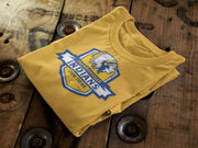 Jacksonville Indian T-Shirt Our Tribe Blue Shield Xs / Gold Shirts