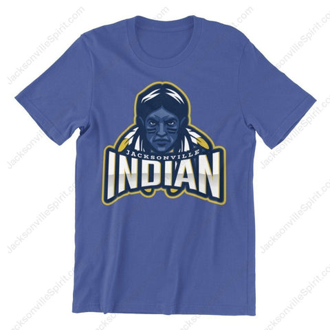 Jacksonville Indian T-shirt 2020 Brave Select - Jacksonville Texas Indian Apparel