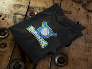 Jacksonville Indians 2020 Baseball Shield T-shirt - Jacksonville Texas Indian Apparel