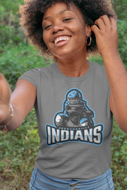 Jacksonville Indians T-shirt 2020 Catcher Ready - Jacksonville Texas Indian Apparel