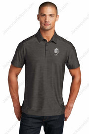 Jacksonville Polo Shirt OGIO Slate with embroidered logo - Jacksonville Texas Indian Apparel