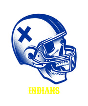 Jacksonville Indian T-Shirt Football Skull Shirts