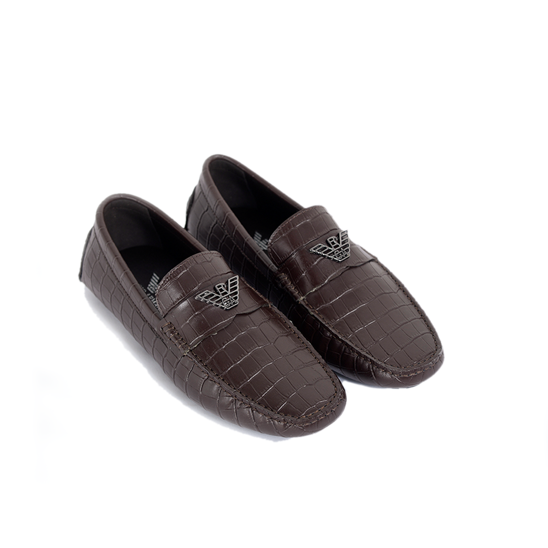 Men Casual Shoes - Coffee
