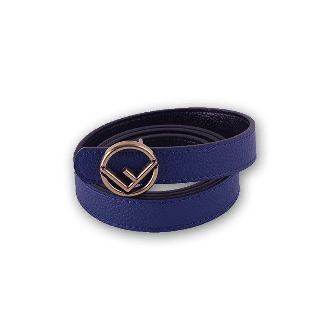 Fandi Women Belt Blue, Orange