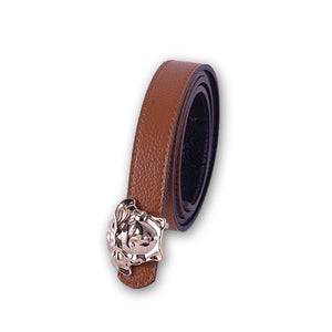 Versace Women Belt Brown