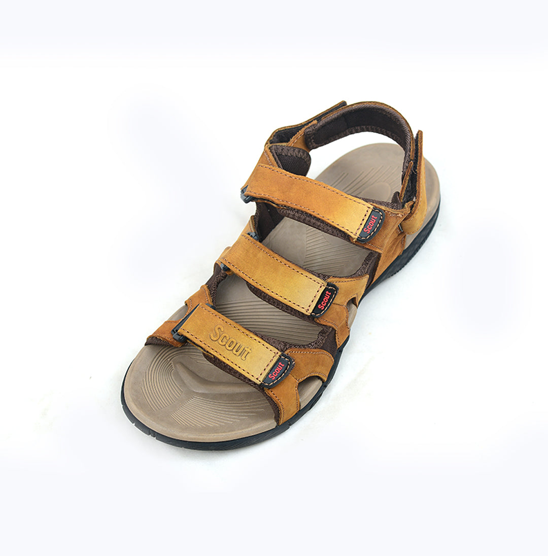 Caramel Brown Sandals