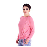 Taffy Pink Sweat Shirt