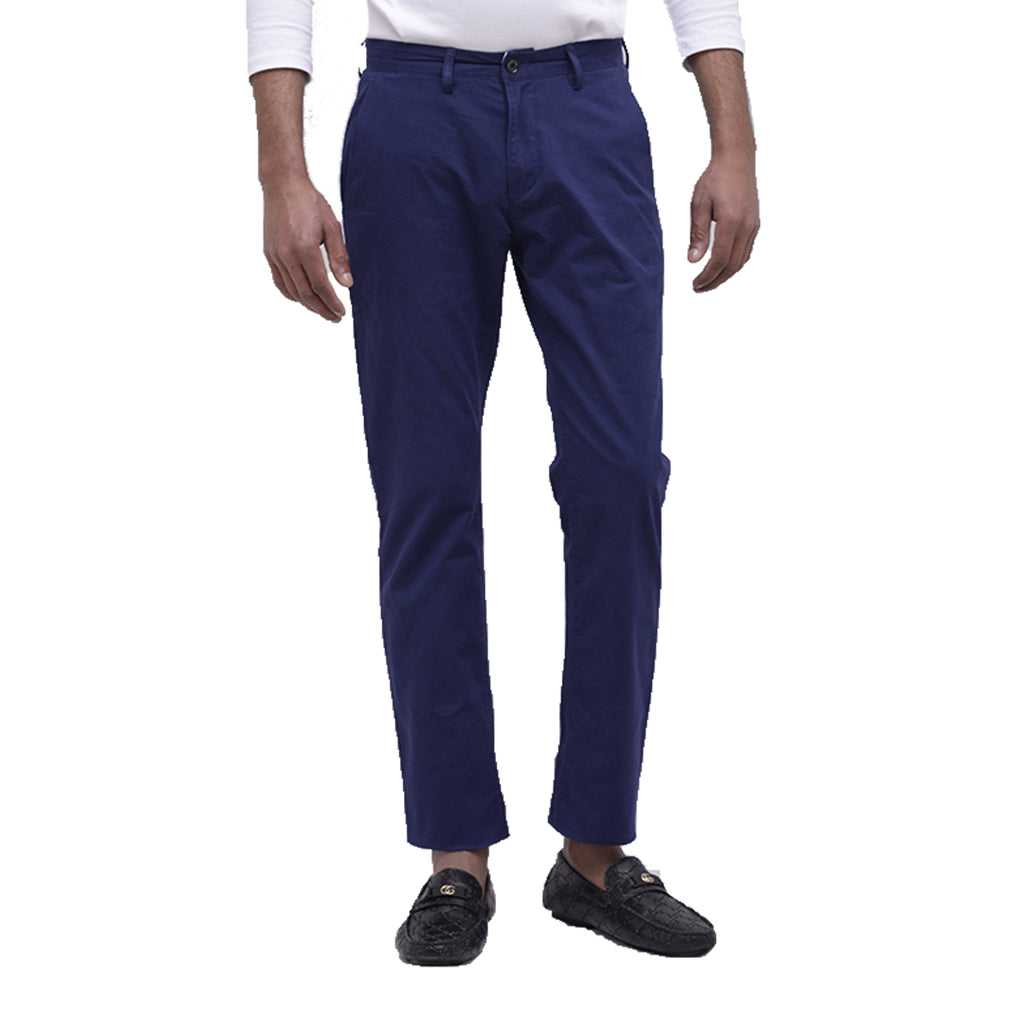 Blue Cotton Pant