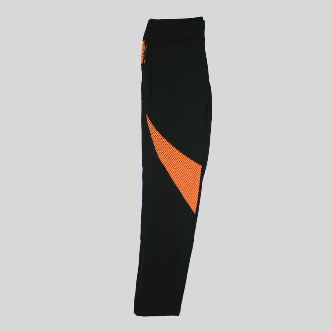 Orange Stripes - Women Tights