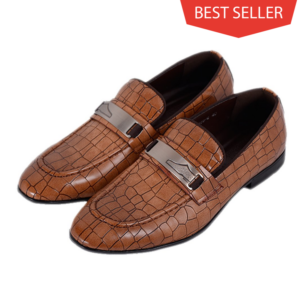 Men Dress Shoes - Brown