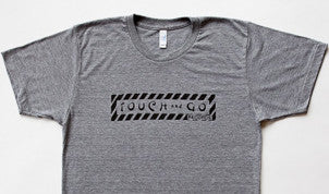 Touch and Go Records T-shirt (Heather Gray with Black Ink)