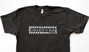Touch and Go Records T-shirt (Charcoal Heather Gray with Gray Ink)