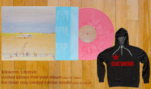 Silkworm Lifestyle (Black or Limited Edition Pink) vinyl LP + Limited Edition Silkworm Hoodie