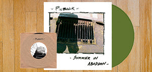 Pinback Summer in Abaddon 15th Anniversary HQ180 Green Vinyl + 7""