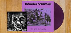 NEGATIVE APPROACH Tied Down (Purple Vinyl) + 10-Song EP 7""