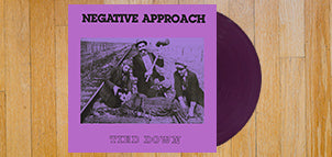 NEGATIVE APPROACH Tied Down (Purple Vinyl)