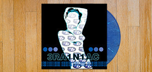 BRAINIAC Hissing Prigs in Static Couture (Blue Swirl Vinyl)
