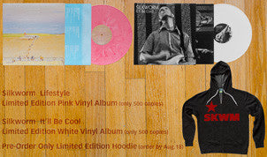 Silkworm Lifestyle Limited Edition Pink Vinyl LP + It'll Be Cool Limited Edition White Vinyl LP + Limited Edition Hoodie