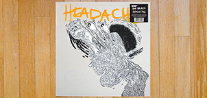 Big Black Headache Vinyl EP (remastered by Steve Albini and Bob Weston)