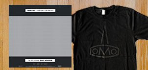 SHELLAC The End of Radio (Peel Sessions 2xLP / 2xCD) + Lomo Logo T-shirt Bundle