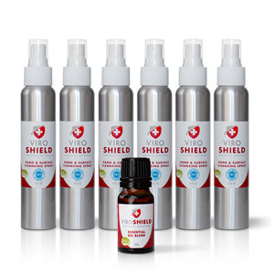 Cleansing Spray and Essential Oil Blend Bundle (6 spray, 1 blend)