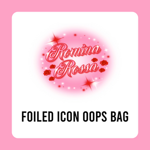 Foiled Icon Oops Bag