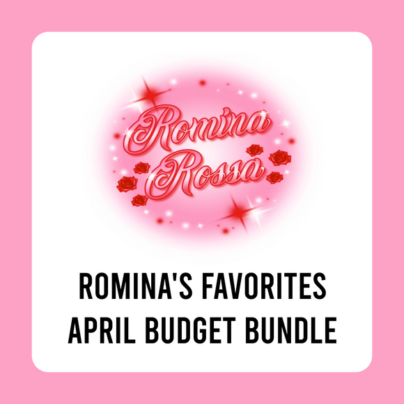 Romina's Favorites April Budget Kit Bundle | 7x9, 8.5x11 & Petite Monthly Planner