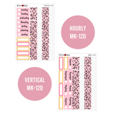 Glamorous - Weekly Sticker Kit Sheets (FOILED & NON FOILED)