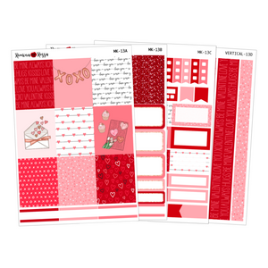Love - Weekly Sticker Kit Sheets (FOILED & NON FOILED)